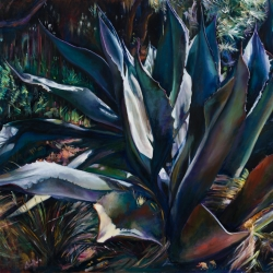 AGAVE IN BLUE